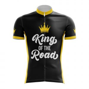 king of the road cycling jersey